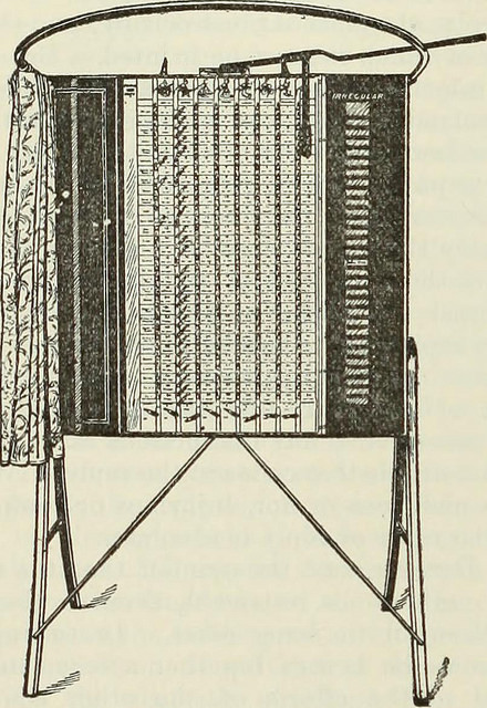 "Voting machine. Image from page 233 of ""Review of reviews and world's work"" (1890)"